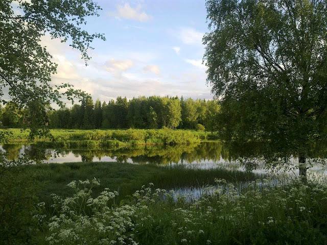 juhannus, joki, kesä, penkkatie, Pyhäjoki