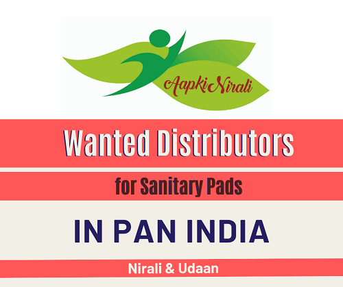 Wanted Distributors for Sanitary pads in India