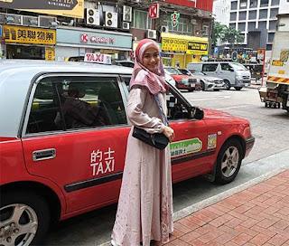Denaya Bintang Azmi di Hongkong