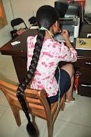 Very long braid china very long hair girl