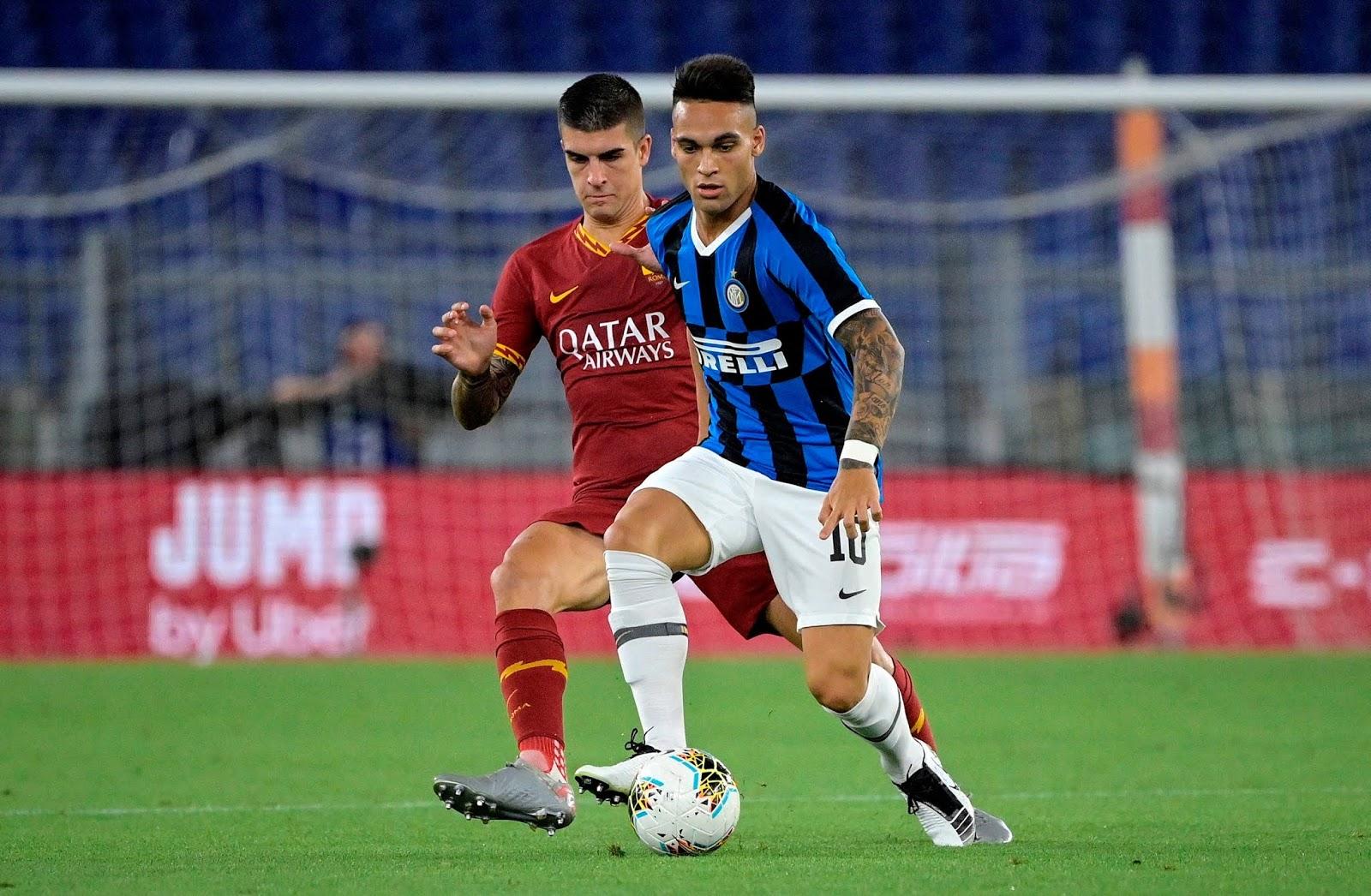 Inter rescató un punto sobre el final ante la Roma