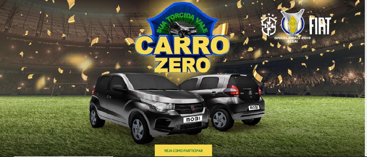 Vá Ao Estádio Assistir Brasileirão Concorra Carro 0KM