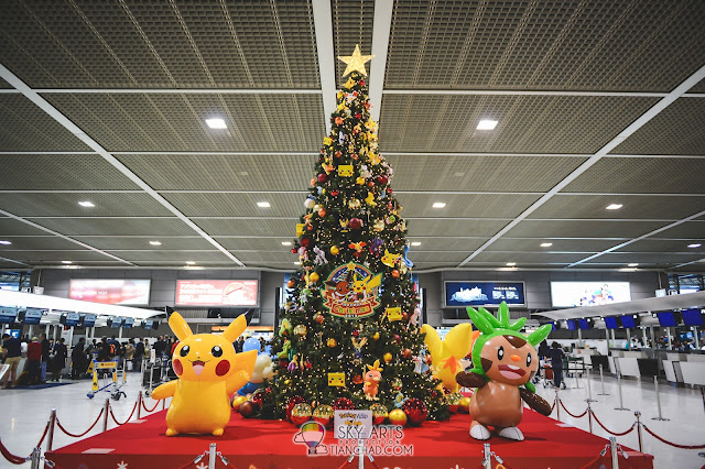 Cutest Christmas tree in Japan - Pikachu