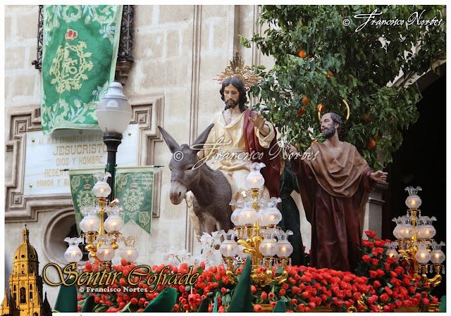 Resultado de imagen de Entrada de jesus en jerusalen murcia La Esperanza