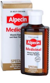 sérum proti vypadávaniu vlasov a pre citlivú pokožku hlavy Alpecin