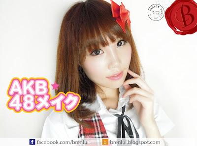 [176] AKB48風日系青春偶像少女淡妝***