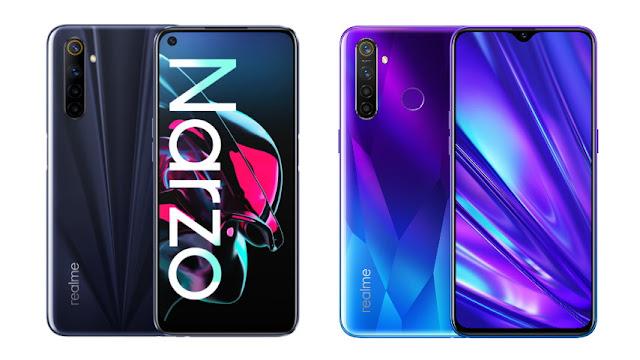 Realme kembali merilis smartphone terbaru untuk kelas mid Perbandingan Realme Narzo vs Realme 5 Pro, Bagus Mana?