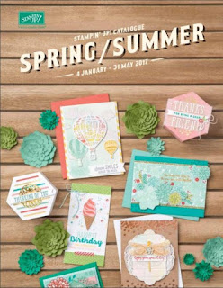 Stampin' Up! Spring Summer Catalogue 2017