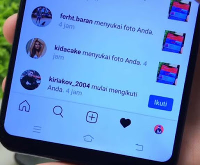 Cara Hack Like Instagram Secara Manual