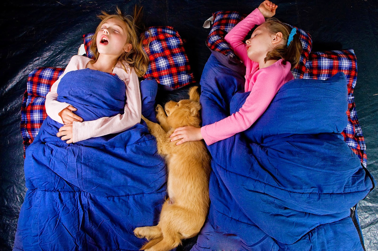 sleeping bag game:best sleepover activities