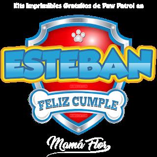 Logo de Paw Patrol: Esteban