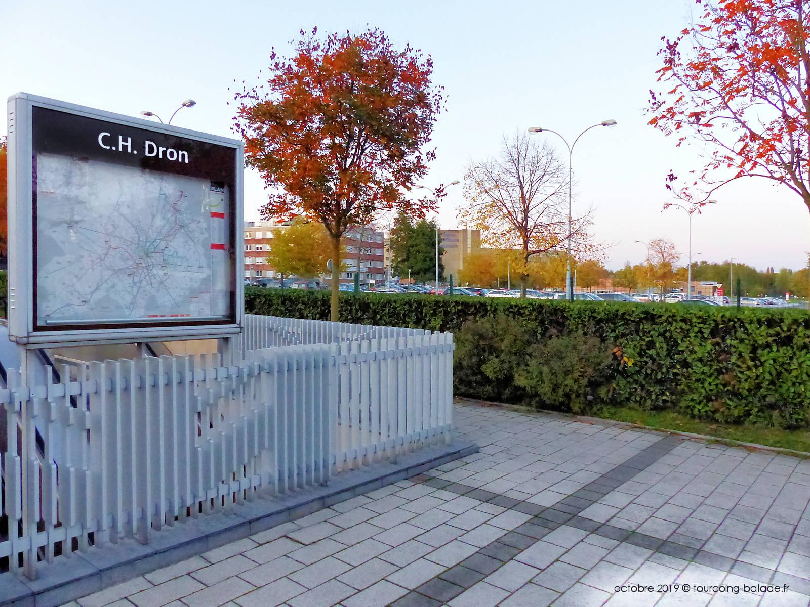 Terminus Métro Tourcoing - Station CH Dron