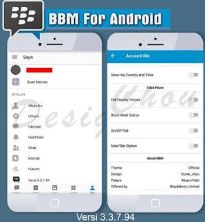 BBM MOD Official v3.3.7.94 APK