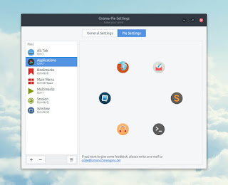 Percantik GNU/Linux Kalian Dengan Aplikasi Gnomepie