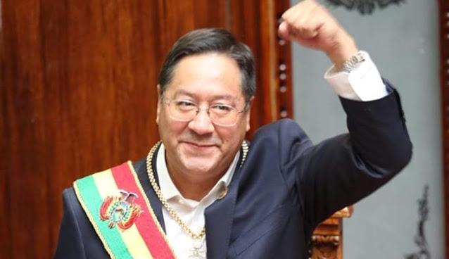 Primer mensaje de Luis Arce, como presidente de Bolivia