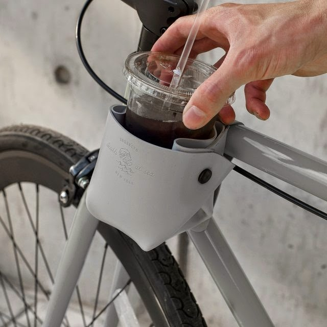 Smart Gadgets For Coffee On The Go - Bicycle Cup Holder