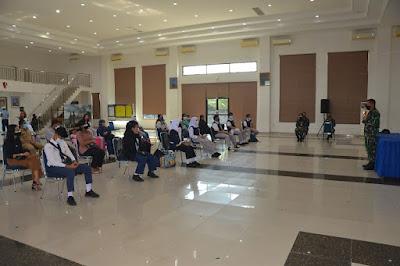 Siswa SMA Pradita Dirgantara Laksanakan Tes Swab