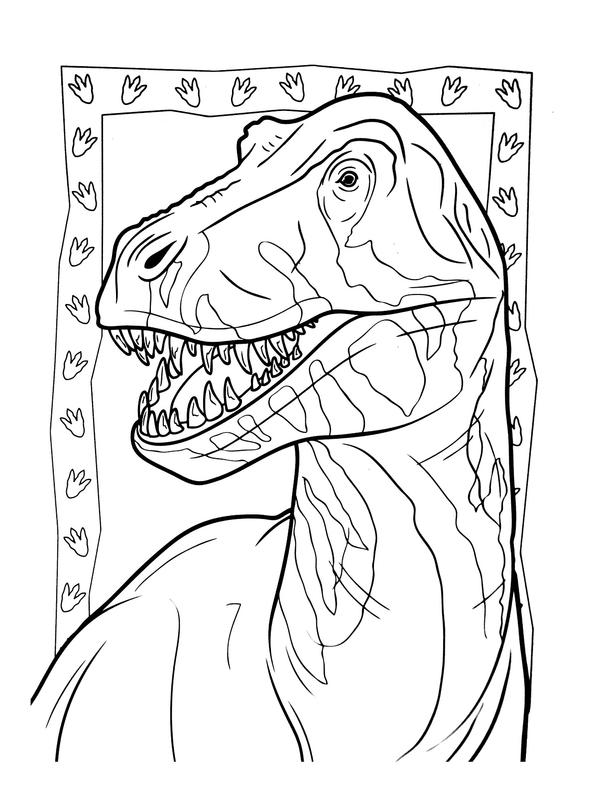 Dinosaurs coloring pages 37