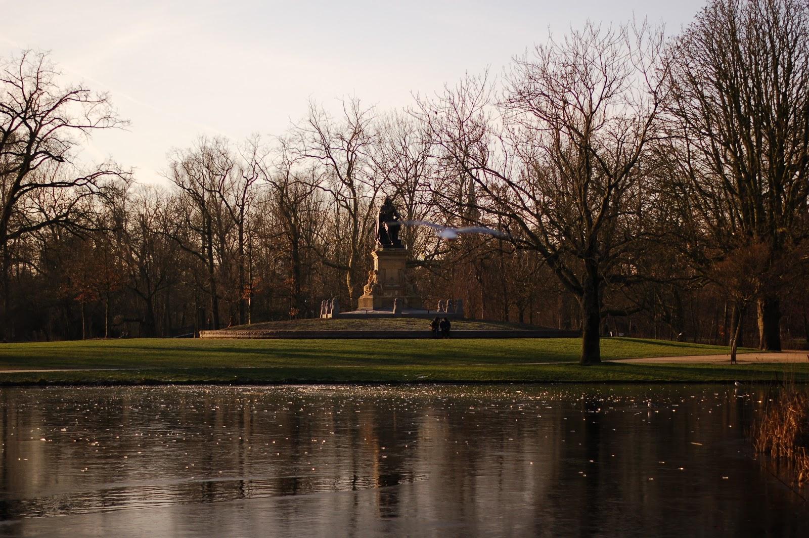 vondelpark amsterda inverno