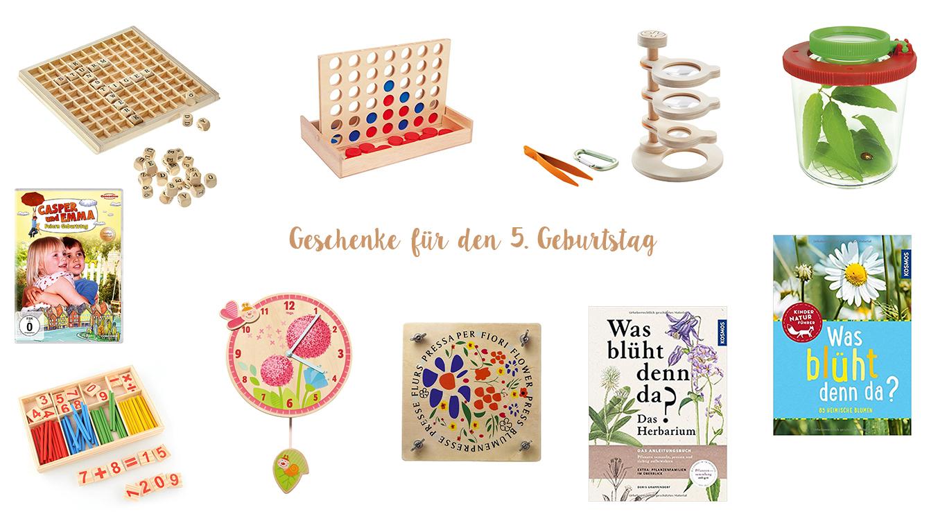 geschenke guide zum 5 geburtstag unter 50 euro dreiherzen. Black Bedroom Furniture Sets. Home Design Ideas