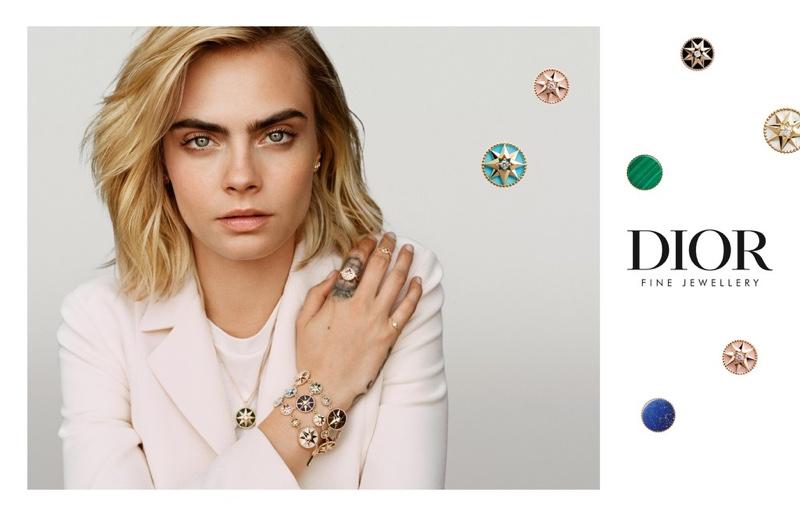 Cara Delevingne Dazzles for Dior Joaillerie Campaign