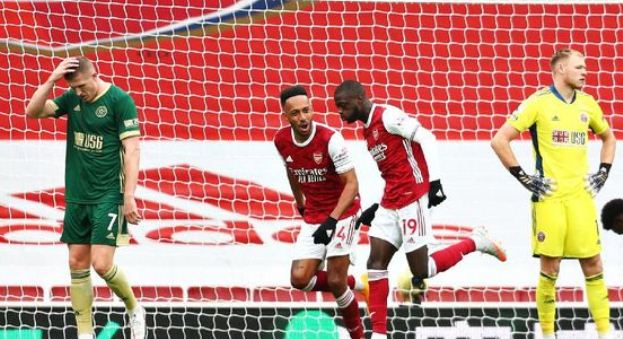 Arsenal vs Sheffield United 2–1 Highlights