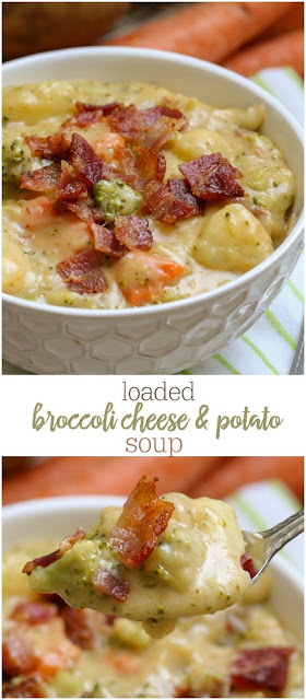 Loaded Broccoli In Addition To Cheese Soup