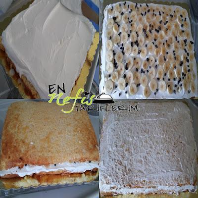 1 Yaş Doğum Günü Pastasının Yapılışı