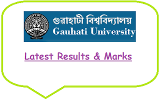 Gauhati University TDC Results Nov 2019