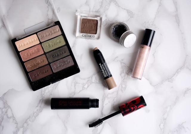 макияж с бронзовыми тенями