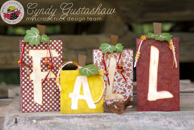 Fall paper boxes