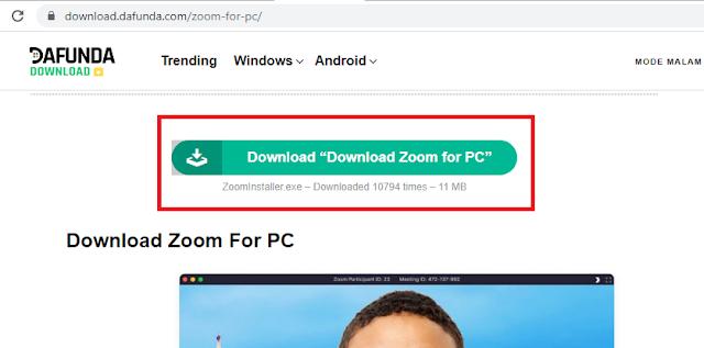 Download Aplikasi Zoom Untuk PC/ Laptop Dan Cara Menggunakannya Secara Lengkap