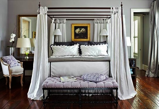 everyday treasures fromThe Domestic Curator: Canopy Beds for Awe ... - Canopy Bed