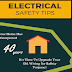 Electrical Safety Tips #infographic