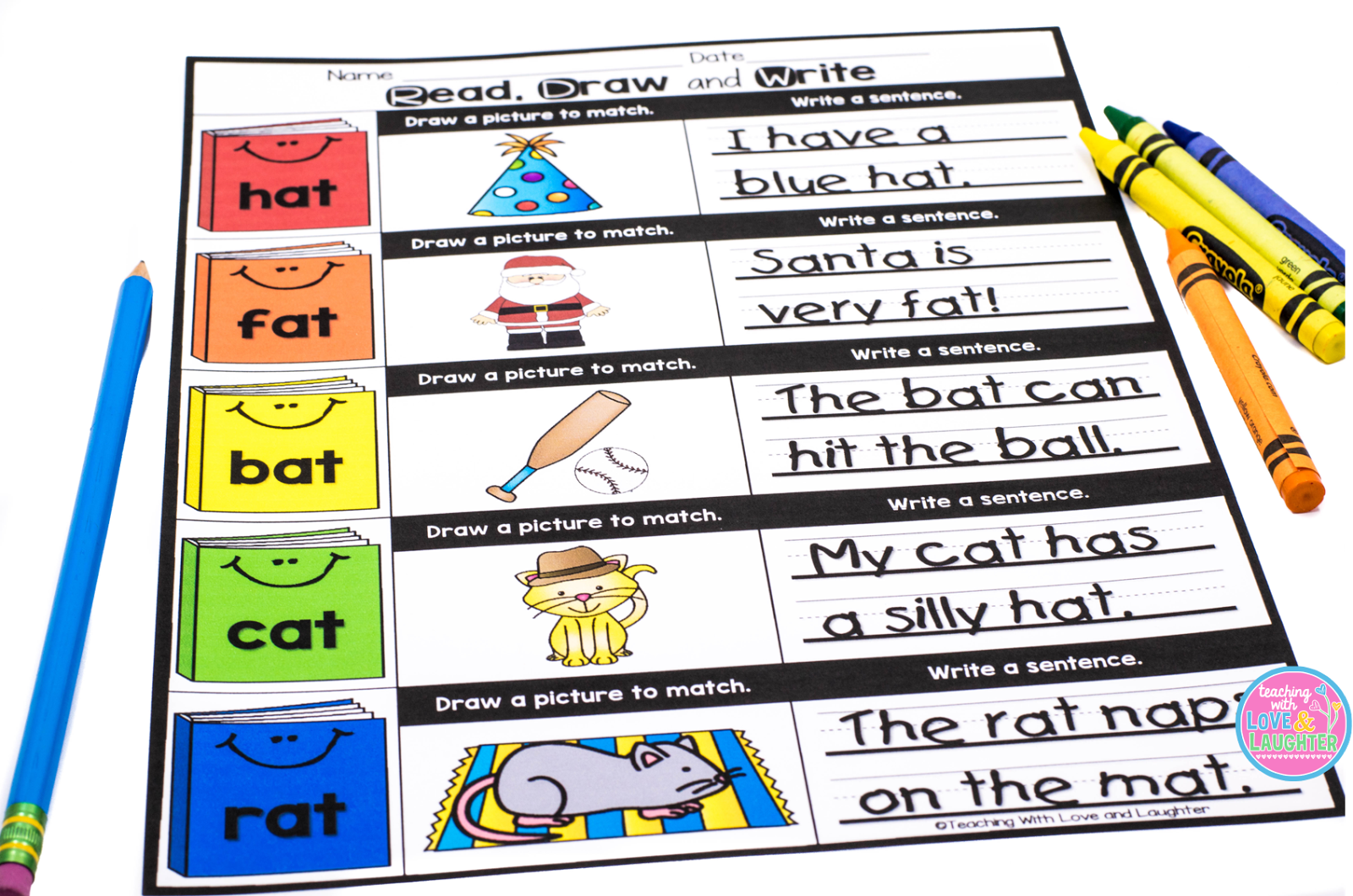 CVC Word Family Booklets   perfect for back to school! | Teaching
