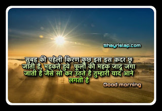 Best collection of Good morning Shayari with images