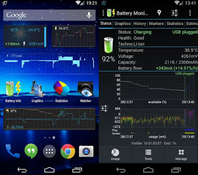 3C Battery Monitor Widget Pro v3.18 Full Apk Gratis Terbaru - Akozo.Net