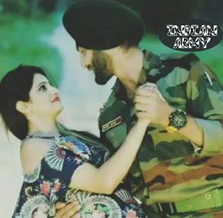 indian army couple photos hd