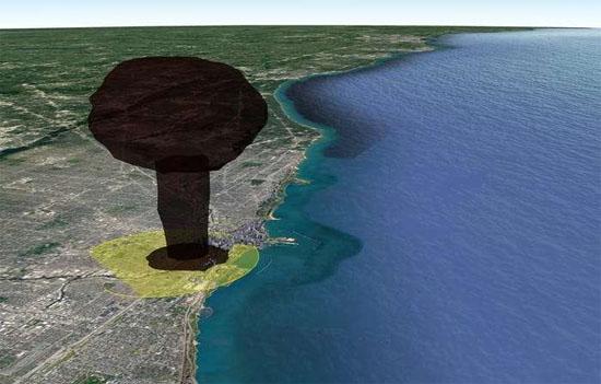 Explosão Nuclear Chicago 1