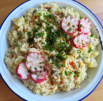 A Healthier Potato Salad