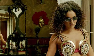 Kangana Ranaut as Alka Singh, in Revolver Rani, directed by Sai Kabir, Alka getting kinky