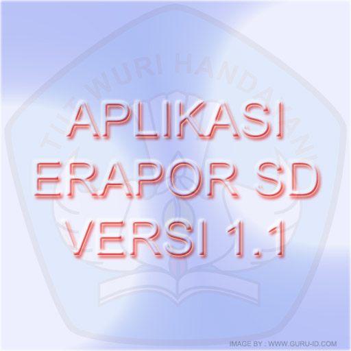 gambar aplikasi erapor sd 1.1