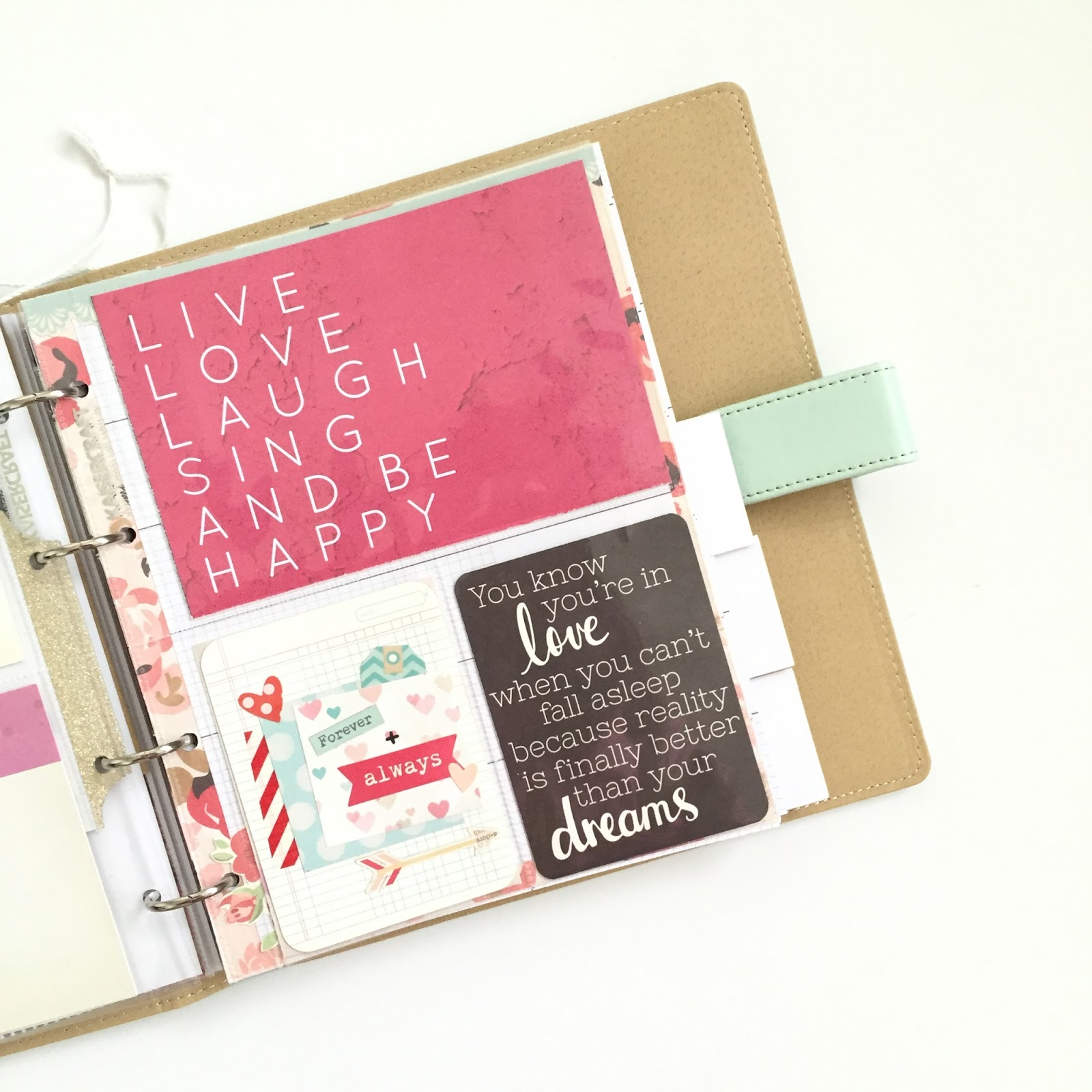 letters in november kaisercraft journal planners part i