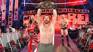 WWE - Sami Zayn se estrena como campeón Intercontinental en Elimination Chamber
