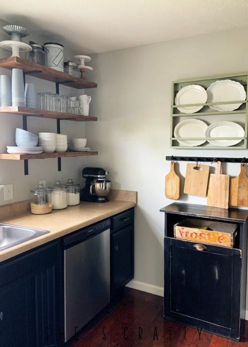 Update your kitchen with paint - paint walls and kitchen cabinets