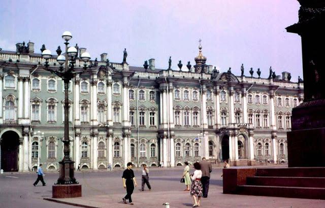 Antiguas fotografías de Leningrado (San Petersburgo) en los años 60