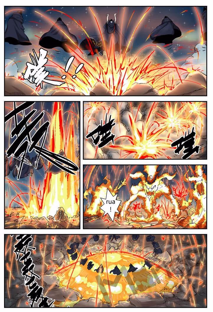 อ่านการ์ตูน Tales of Demons and Gods 130 Part 1 ภาพที่ 9