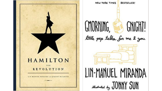 Książki Lin-Manuel Miranda Hamilton Revolution Gmorning Gnight