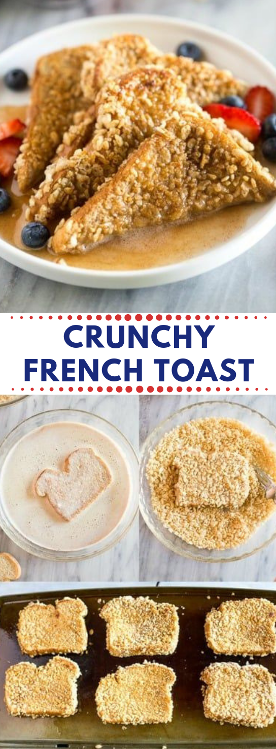 CRUNCHY FRENCH TOAST #diet #easy #dietketo #paleo #whole30