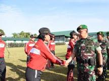Pangdam XIII/Merdeka Minta Bertanding Secara Profesional dan Junjung Sportifitas